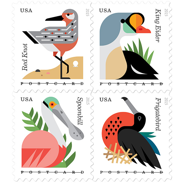 forever postcard postage stamps love from santa barbara