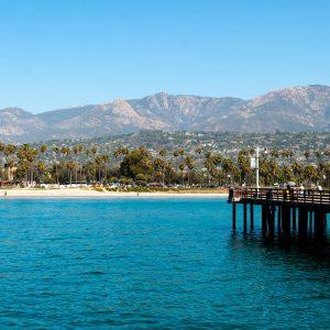 Sea Center on Stearns Wharf, Santa Barbara – postcard