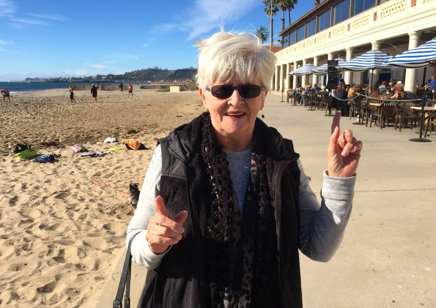 Mom - Love from Santa Barbara