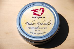 Amber Aphrodite Lotion - Love from SB