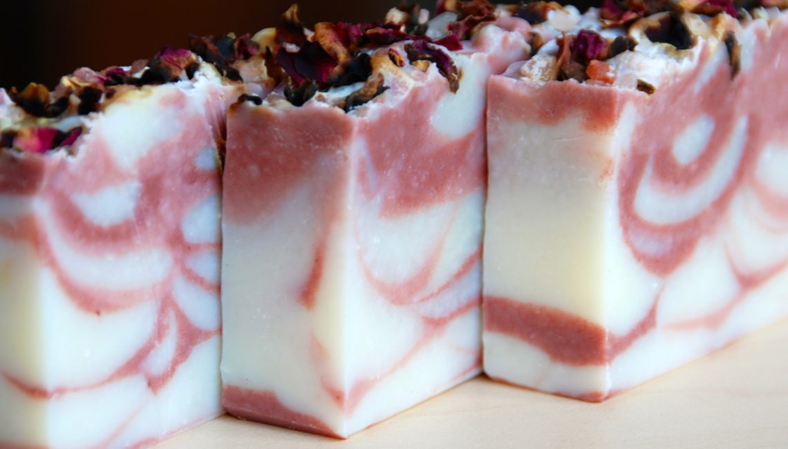 Farmers Market Sweet Pea Soap - Love from Santa Barbara