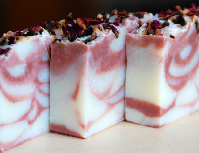 Farmers Market Sweet Pea Soap - Love from Santa Barbara