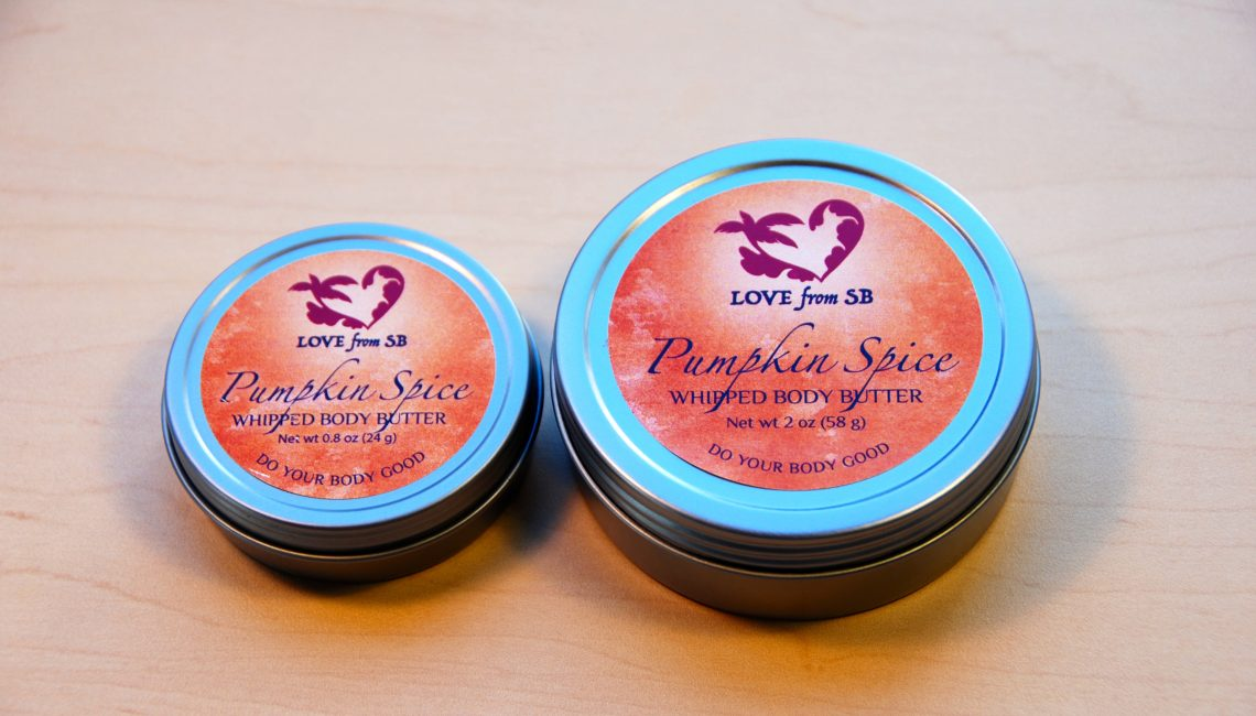 Pumpkin Spice Whipped Body Butter - Love from Santa Barbara