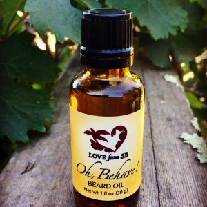 Oh, Behave! Beard Oil - Love from Santa Barbara