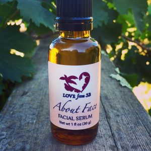 About Face Facial Serum - Love from Santa Barbara