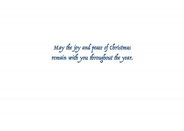 Santa Barbara Mission at Christmas by Santa Barbara Greeting Cards