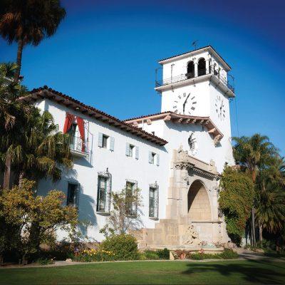 Santa Barbara County Courthouse – Greeting Card
