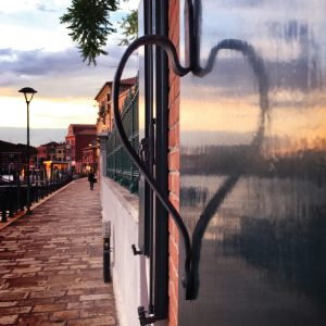 Love is where you find it – Murano, Italy – Greeting Card
