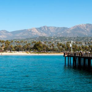 Sea Center on Stearns Wharf, Santa Barbara – postcard