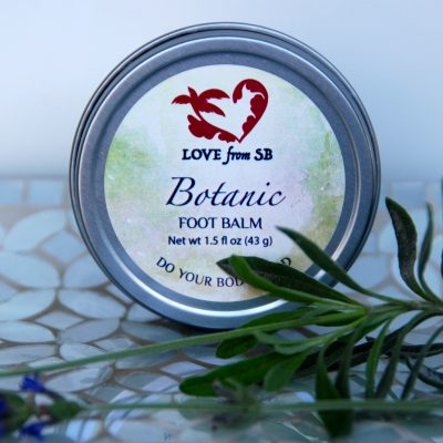 Botanic Foot Balm - Love from Santa Barbara