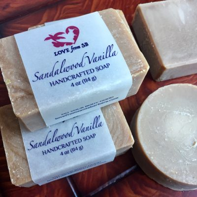 Sandalwood Vanilla Soap - Love from SB