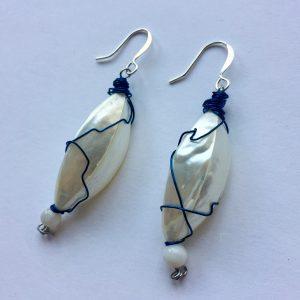 Trocha shell earrings - Love from Santa Barbara