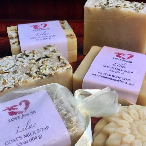 Lilac Goat's Milk Soap - Love from SB