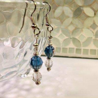 Swarovski drop earrings