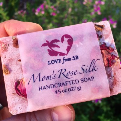 Mom's Rose Silk Soap