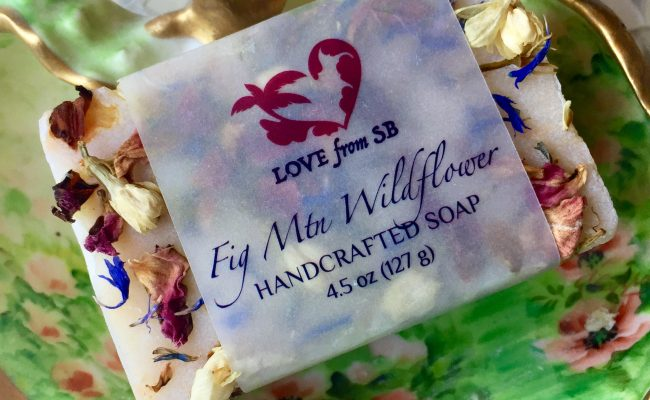 Fig Mtn Wildflower Handcrafted Soap