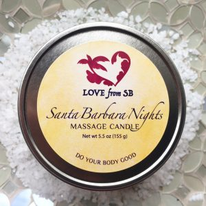 Santa Barbara Nights Massage Candle
