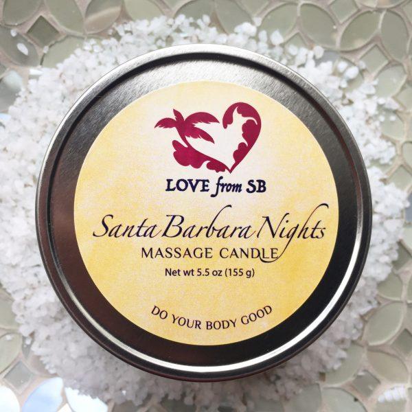 Santa Barbara Nights Massage Candle
