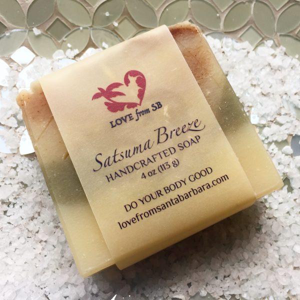 Satsuma Breeze Handcrafted Soap