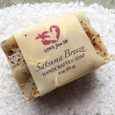 Satsuma Breeze Handcrafted Soap