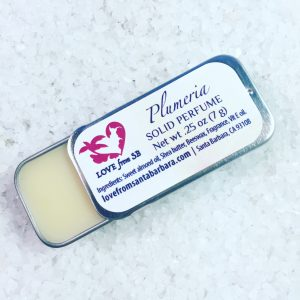 Plumeria Solid Perfume