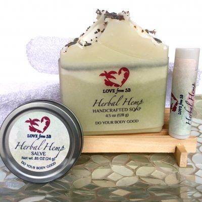 Herbal Hemp Gift Set
