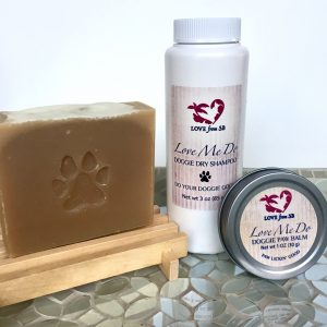 Love Me Do Doggie Grooming Products