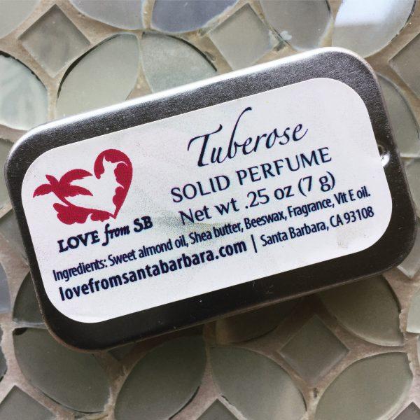 Tuberose Solid Perfume