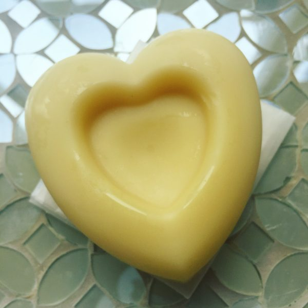 Kiss Me All Over Heart Lotion Bar