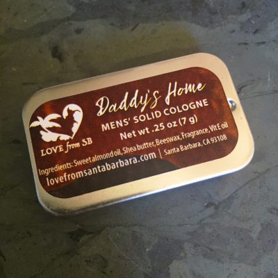 Daddy's Home Solid Cologne for Men