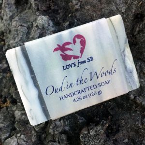 Oud in the Woods Soap