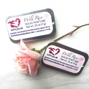 Wild Rose Solid Perfume