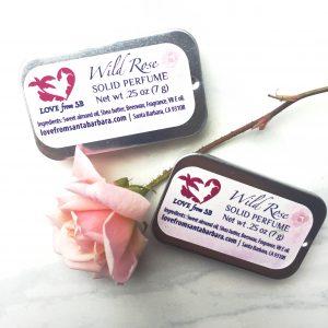 Wild Rose Solid Perfume