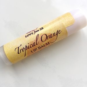 Tropical Orange Lip Balm
