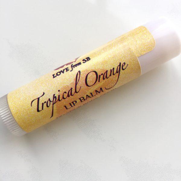 Tropical Orange Lip Balm