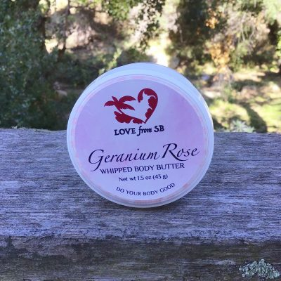 Geranium Rose Whipped Body Butter