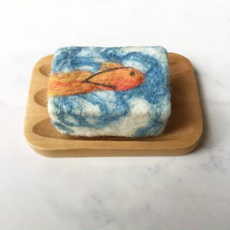 Garibaldi Felted Soap 3