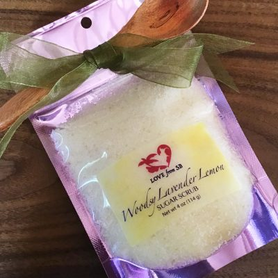 Woodsy Lavender Lemon Sugar Scrub