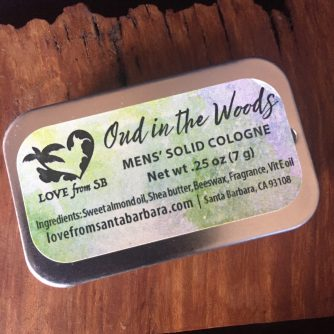 Oud in the Woods Men's Solid Cologne